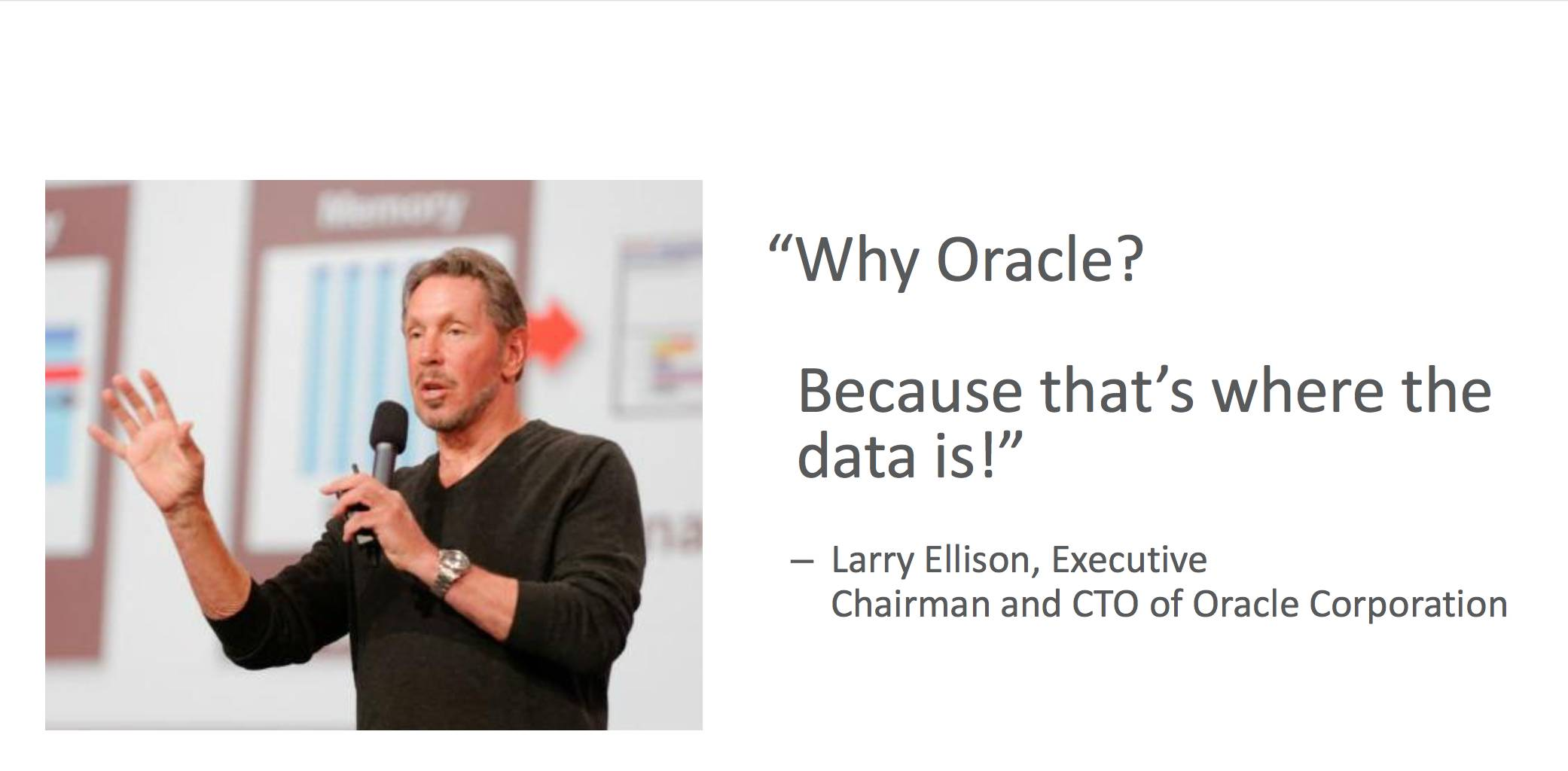 why Oracle 18c
